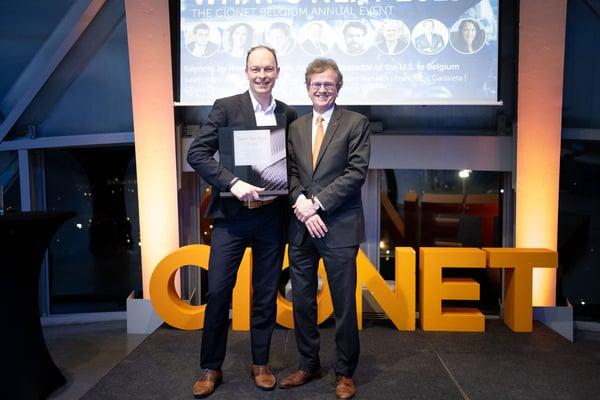 CIONET Belgium - What's Next 2019 - Annual Event - Bjorn van Reet and Howard Gutman