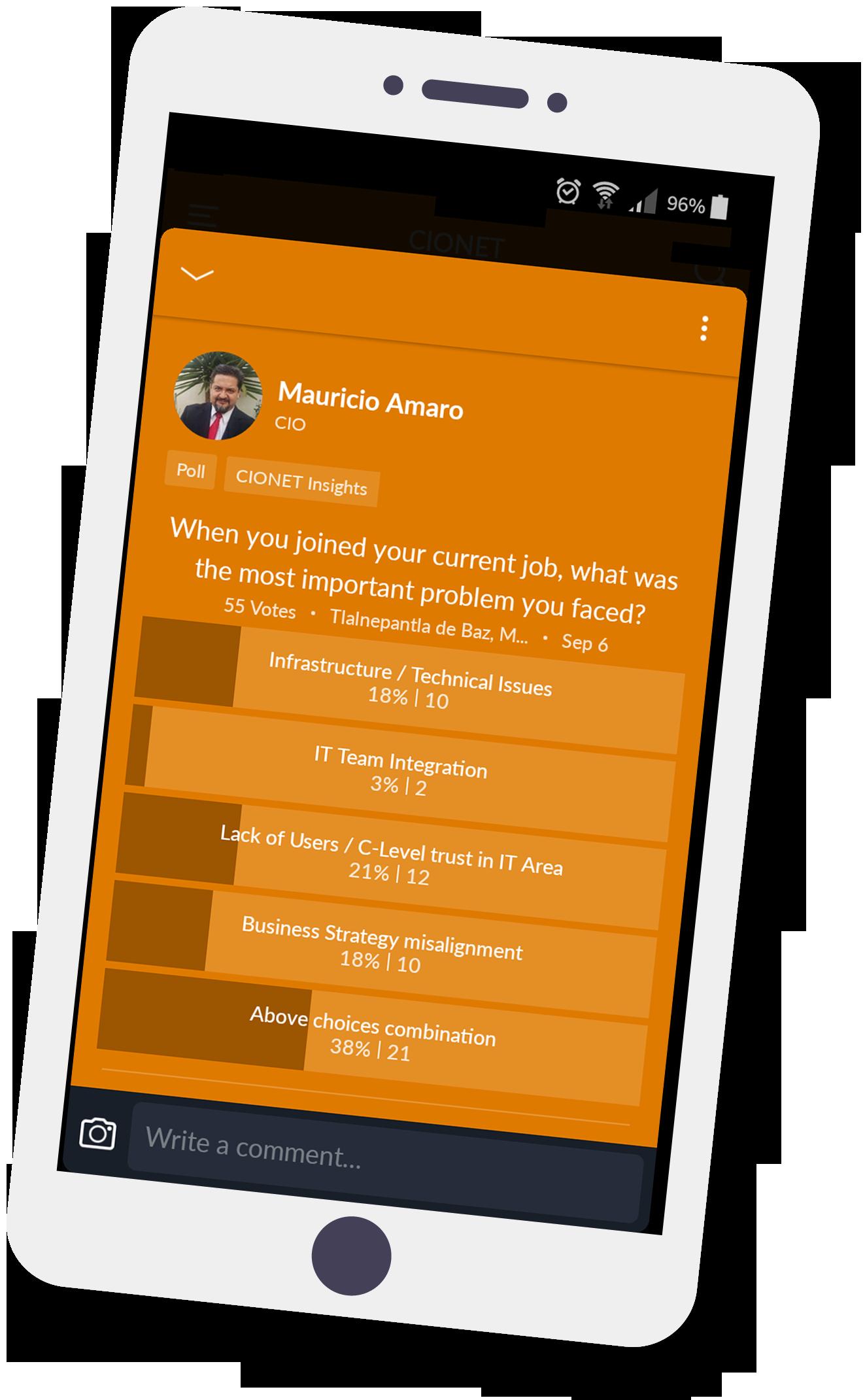 CIONET-app-polls