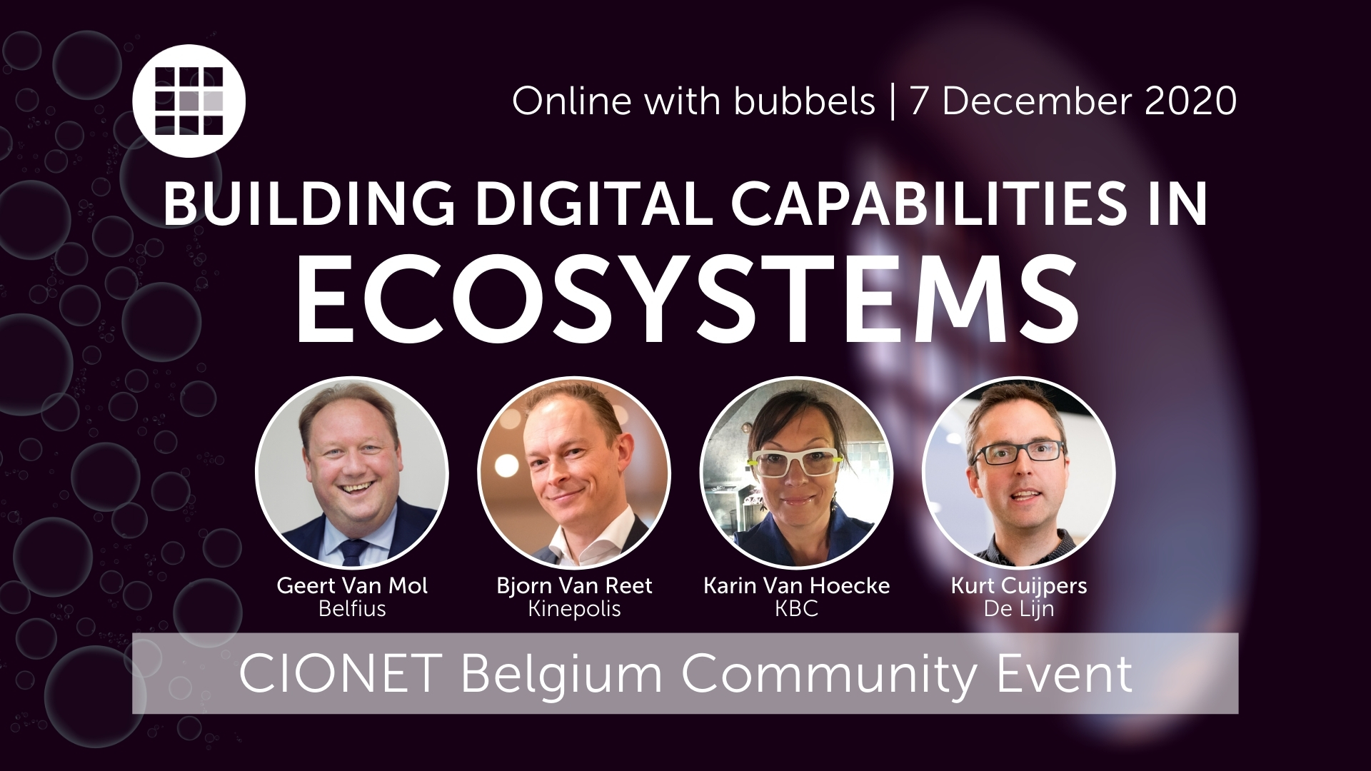 CIONET Belgium - Event - Building Digital Capabilities in Ecosystems