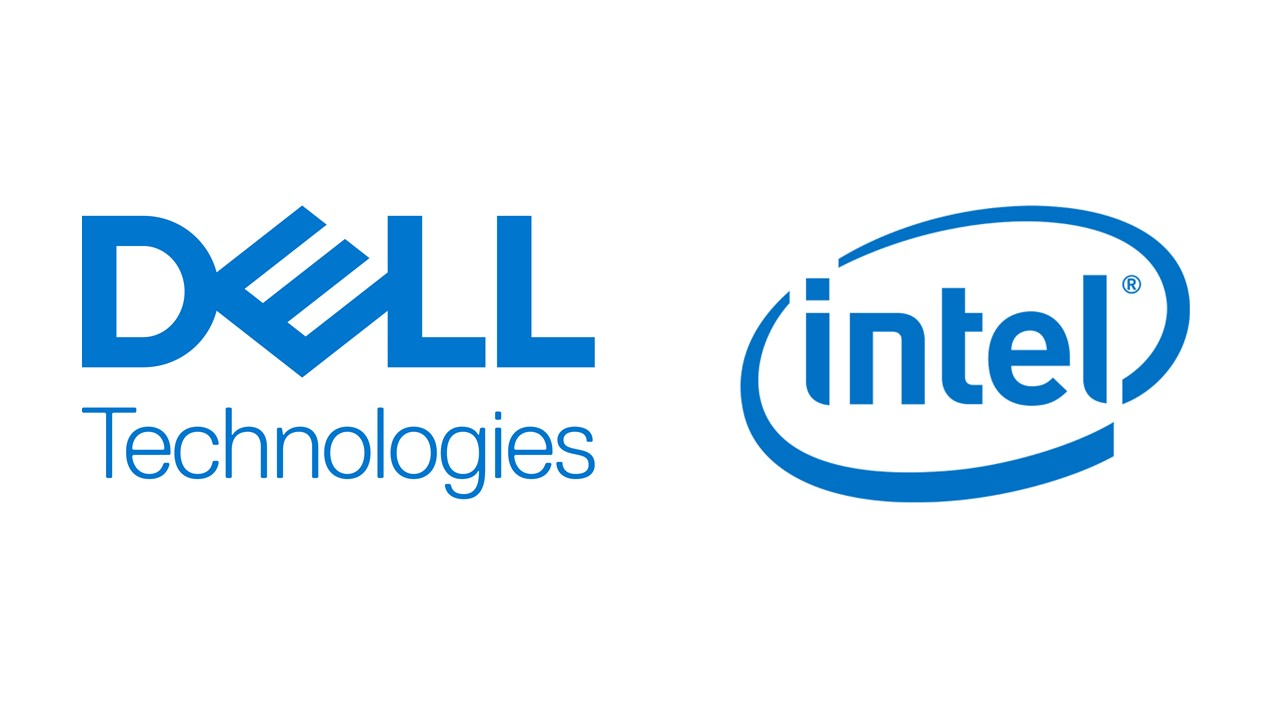 Logo DellTechnologies `+ Intel